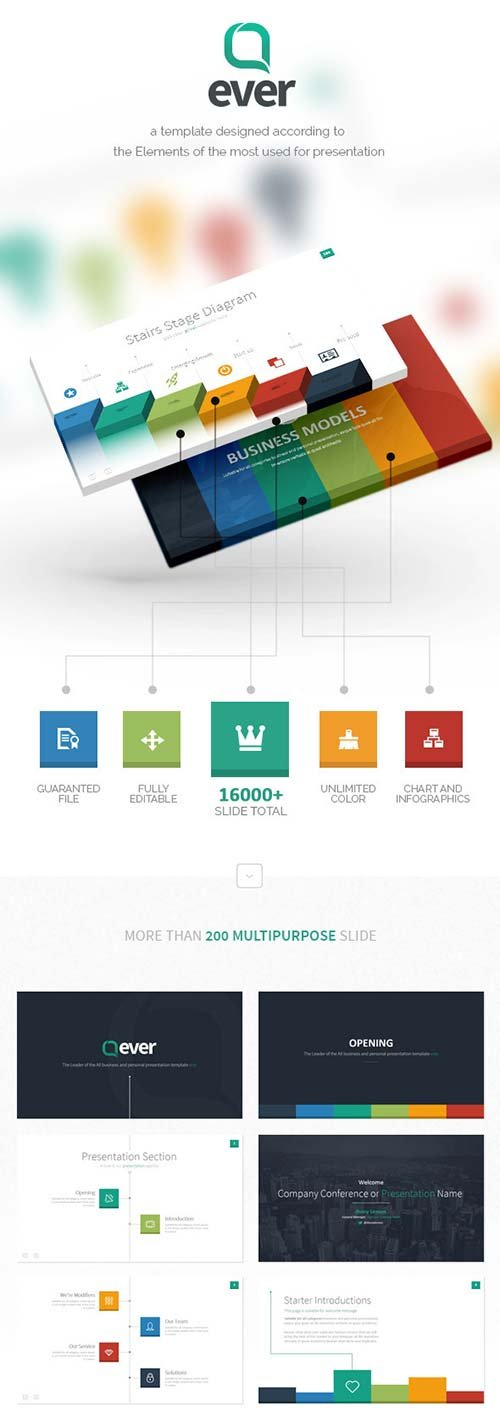 GraphicRiver Ever - Multipurpose Presentation Template