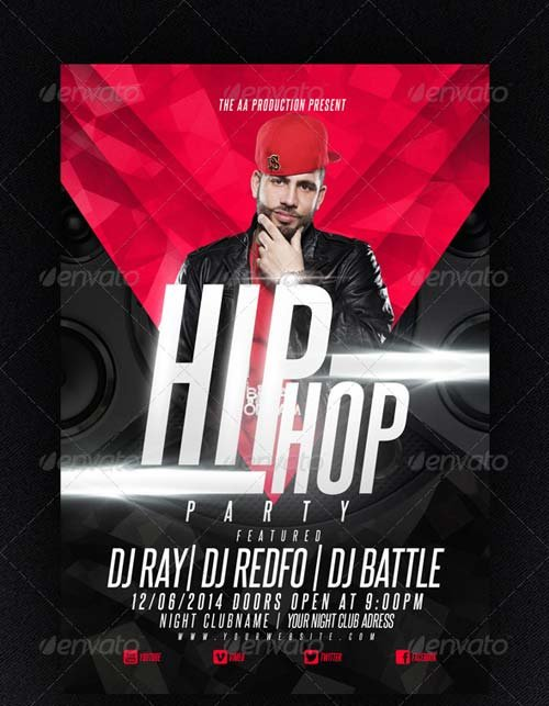 GraphicRiver Hip Hop party