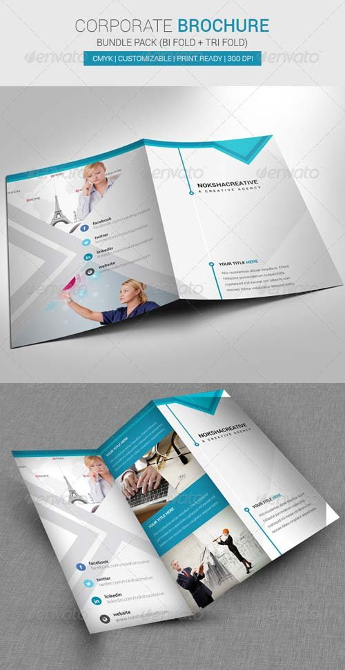 GraphicRiver Bundle Pack Brochure