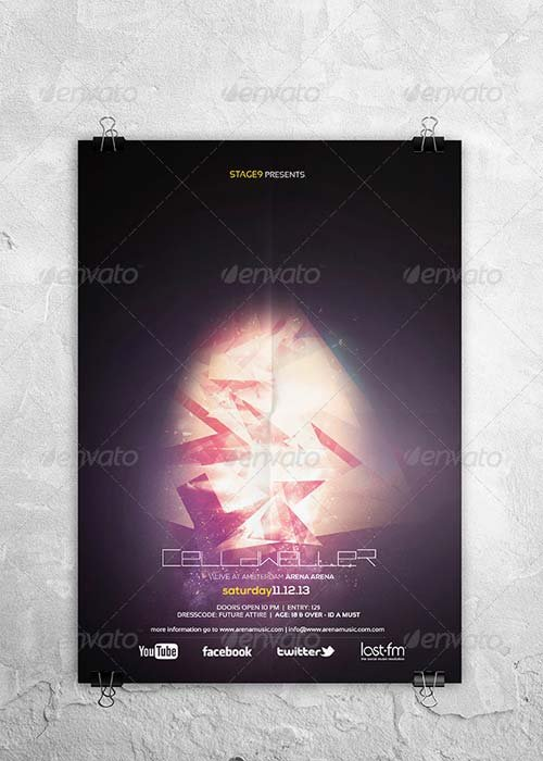GraphicRiver Futuristic Flyer / Poster Vol 2