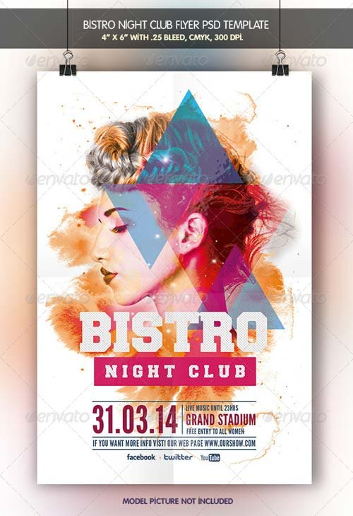 GraphicRiver Bistro Night Club