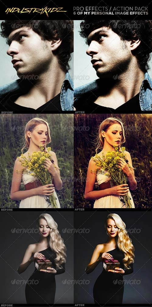GraphicRiver Pro Effects Photoshop Actions