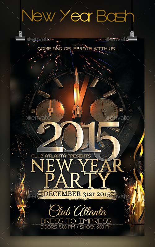 GraphicRiver New Year Bash