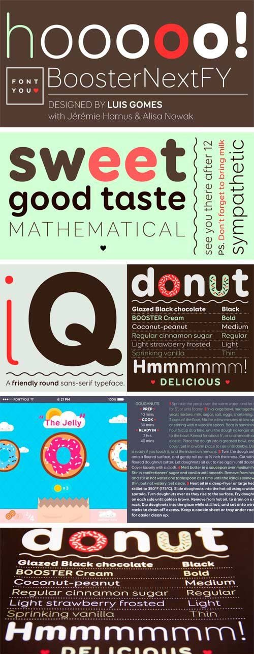 Booster Next FY Font Family