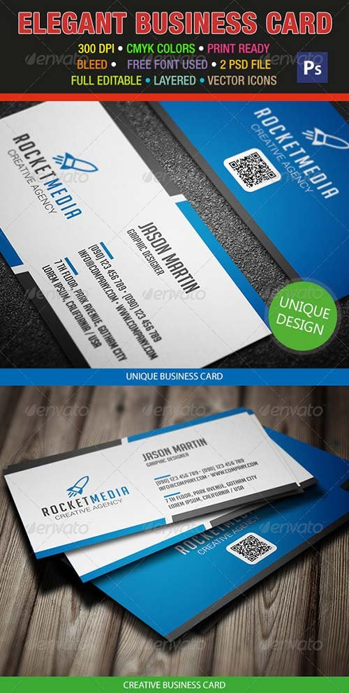 GraphicRiver Corporate Business Card 298