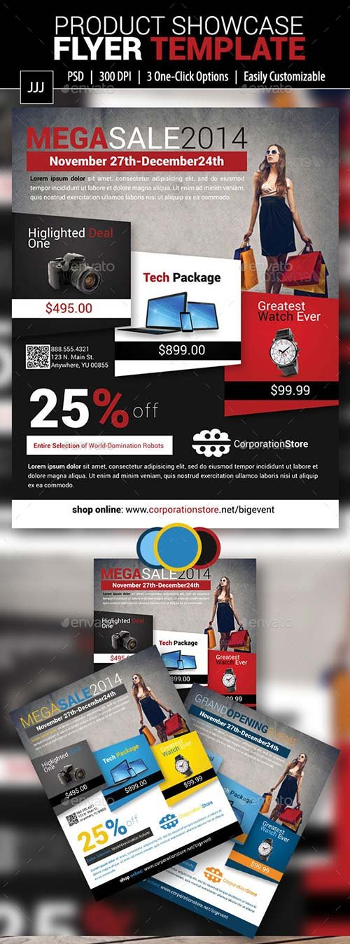 GraphicRiver Product Showcase Flyer 11