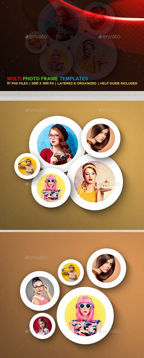 GraphicRiver Multi Photo Frame Templates