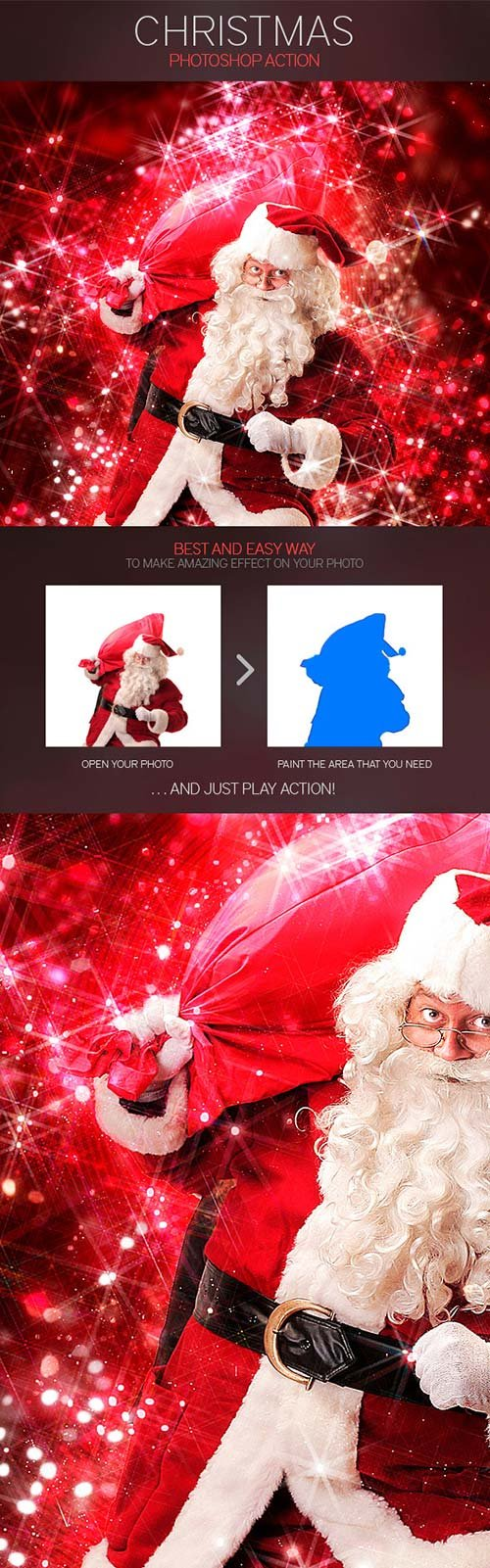 GraphicRiver Christmas Photoshop Action