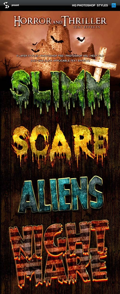 GraphicRiver Horror and Thriller Text Effects