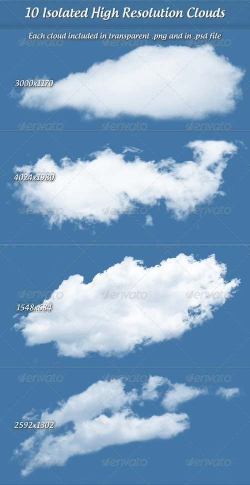 GraphicRiver Clouds