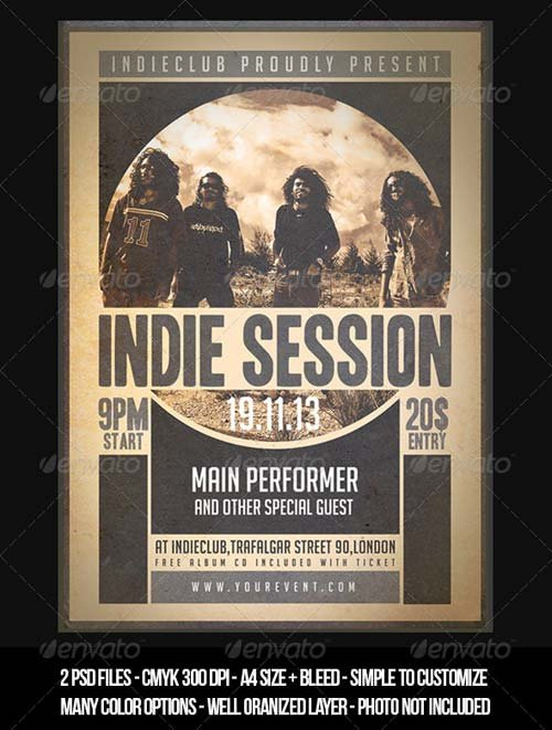GraphicRiver Indie Flyer Vol 1