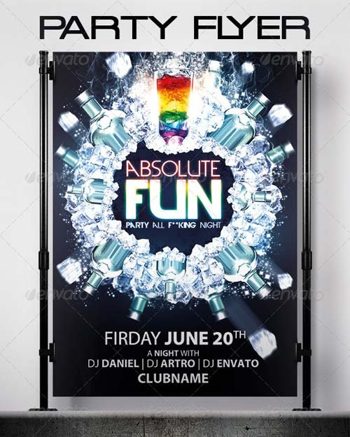 GraphicRiver Absolute Fun Flyer