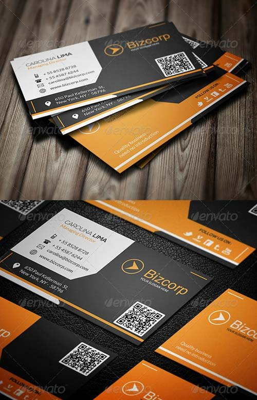 GraphicRiver Corporate Business Card 084