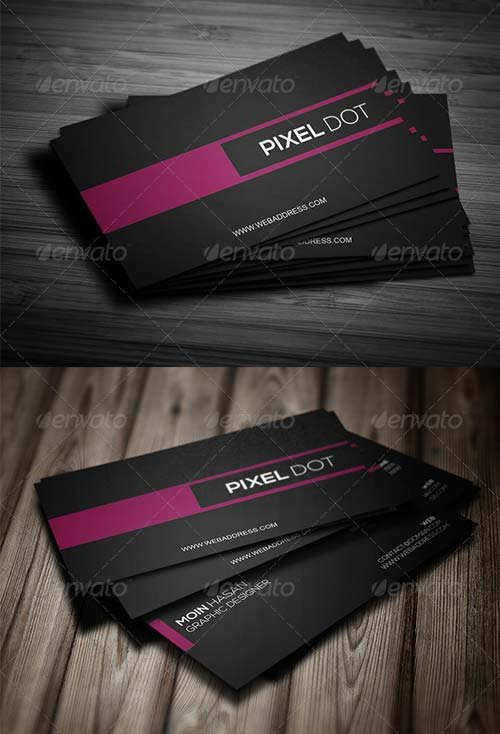 GraphicRiver Corporate Business Card Design 09