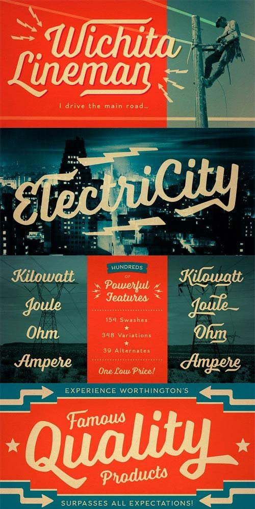 Voltage Font Family