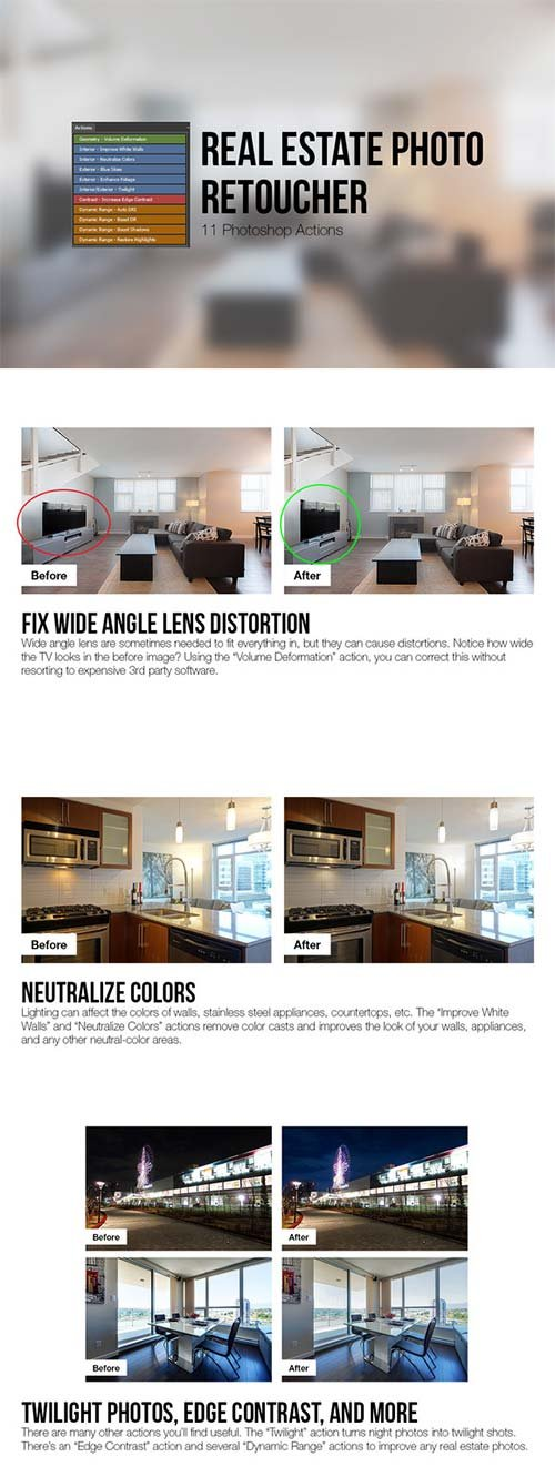 CreativeMarket Real Estate Photo Retoucher