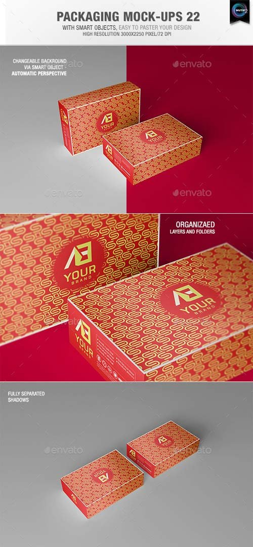 GraphicRiver Packaging Mock-ups 22