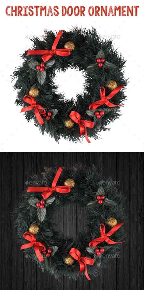 GraphicRiver Christmas Door Ornament