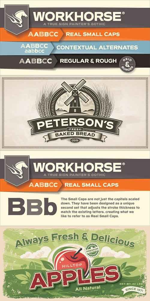 Workhorse Font Family