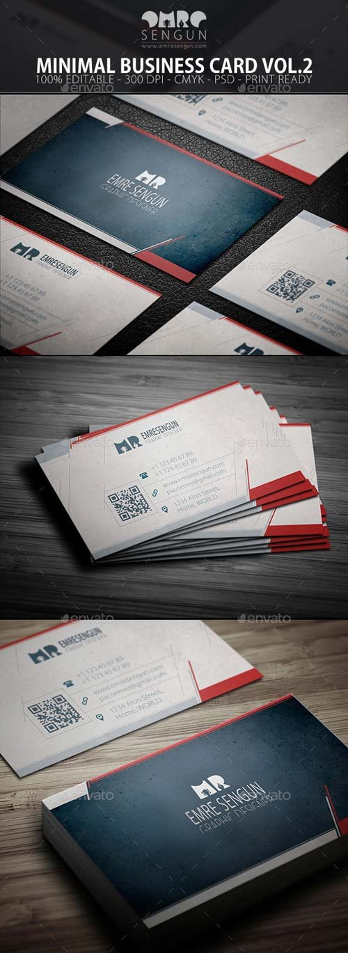 GraphicRiver Minimal Business Card Vol.02