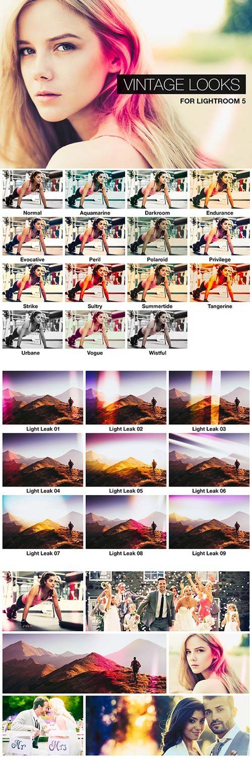 GraphicRiver 23 Vintage Lightroom Presets (Vol 1)