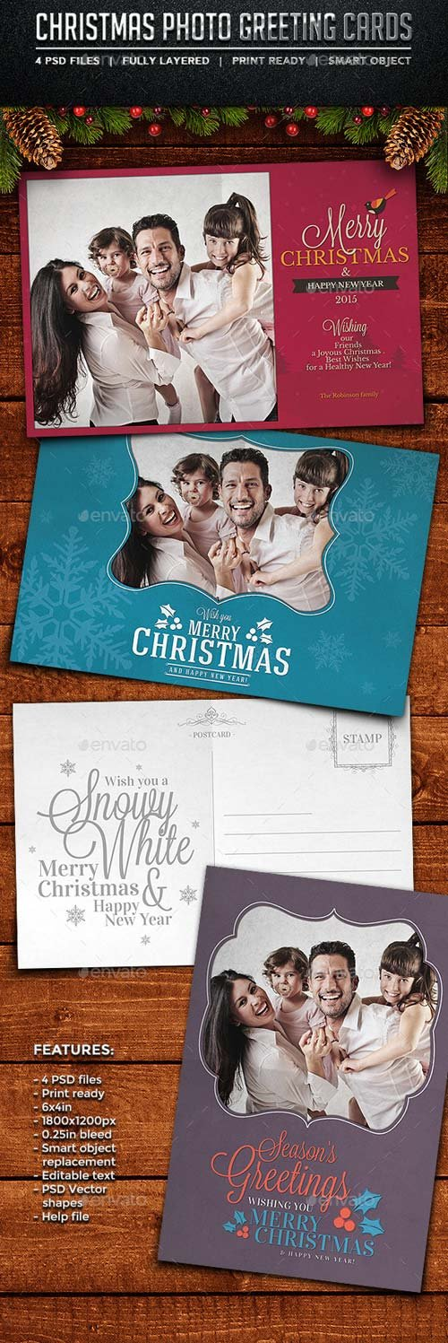 GraphicRiver Christmas Photo Cards