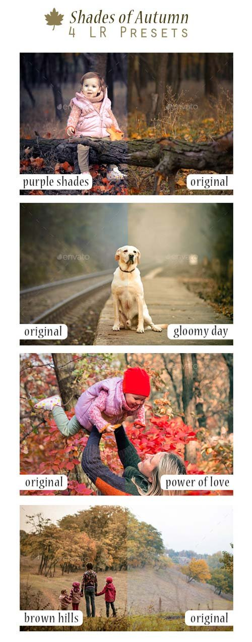 GraphicRiver Shades of Autumn - 4 LR Presets