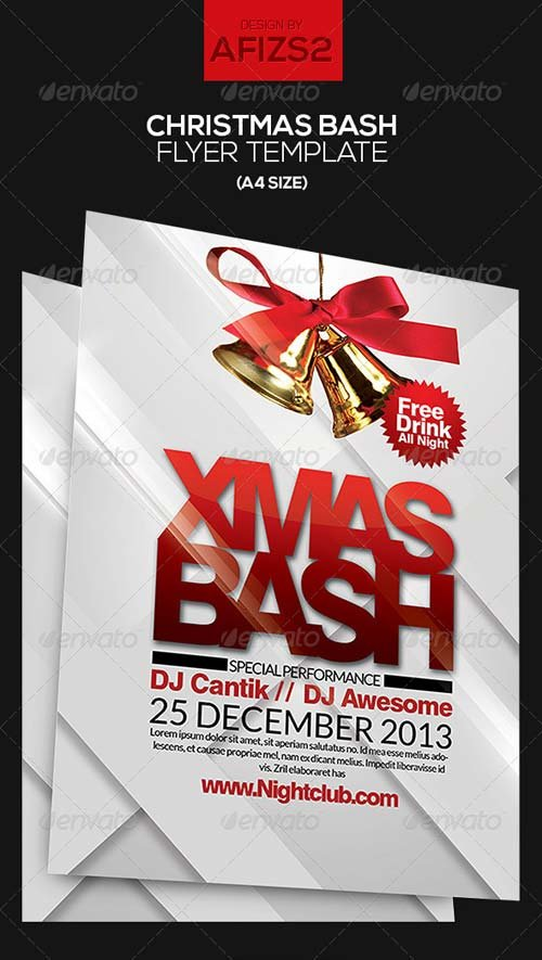 GraphicRiver Christmas Bash Flyer