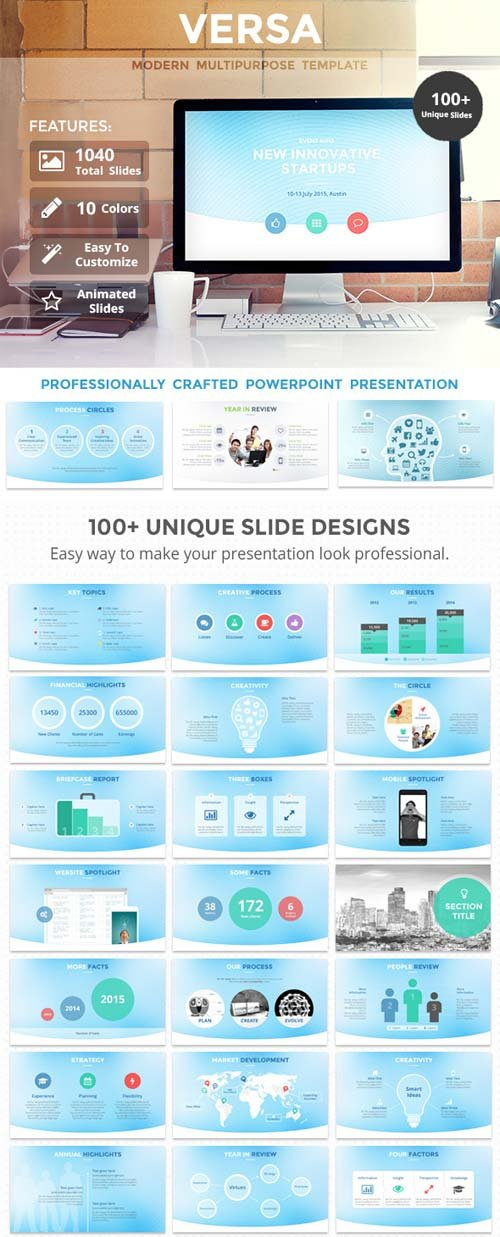 GraphicRiver Versa PowerPoint Template