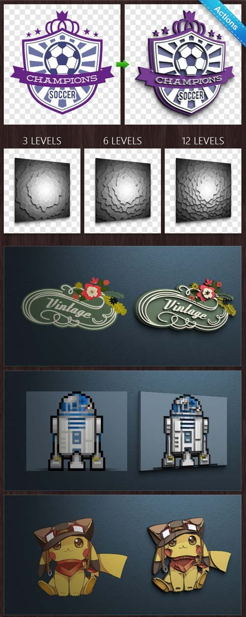 GraphicRiver 3D Badge Converter