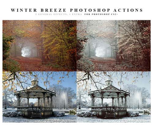 GraphicRiver Winter Breeze Actions