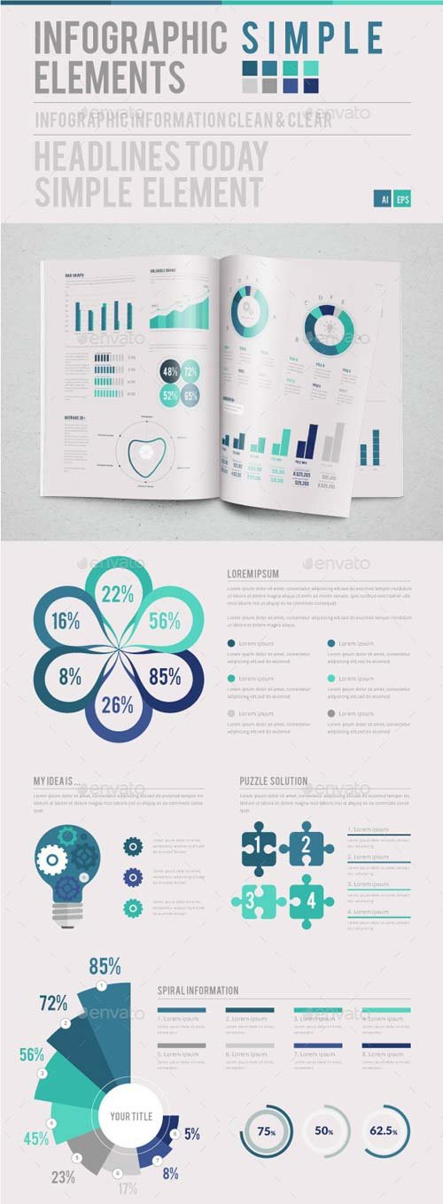 GraphicRiver Infographic Simple