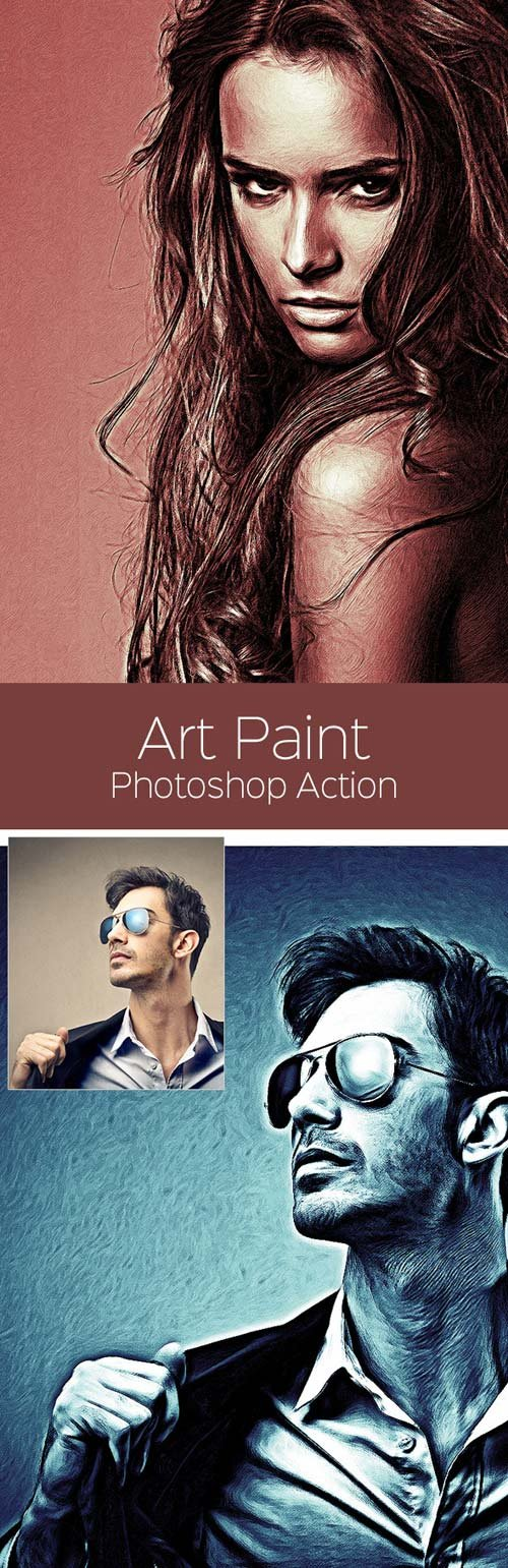 GraphicRiver Art Paint - Photoshop Action