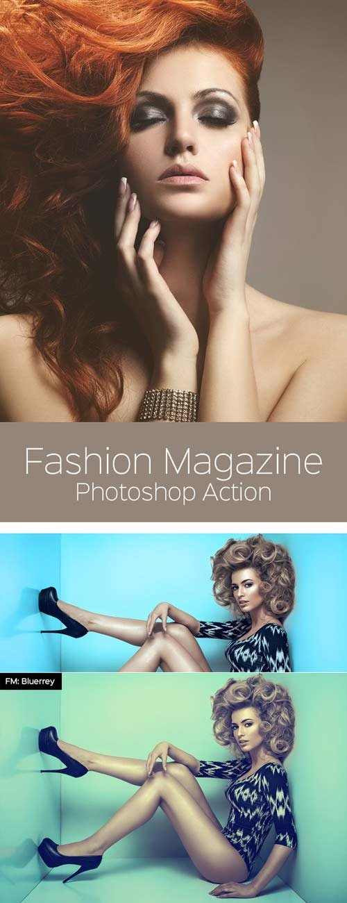 GraphicRiver Fashion Magazine - Photoshop Action