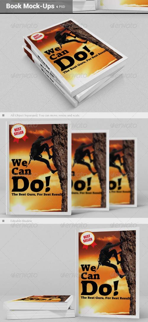 GraphicRiver Book Mock-Ups