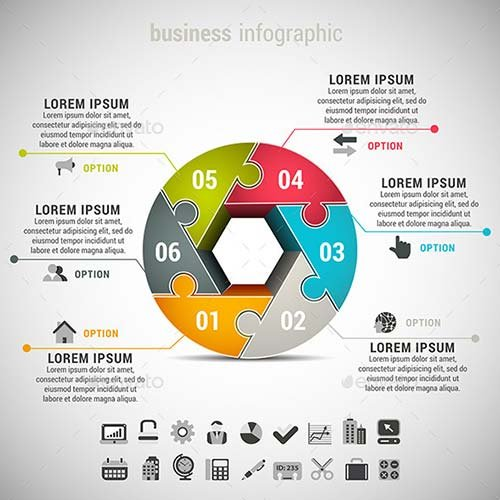 GraphicRiver Business Infographic 9747190