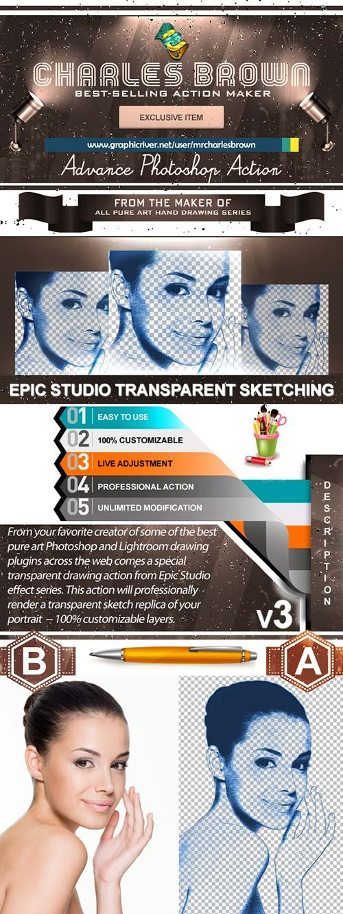GraphicRiver Epic Studio Transparent Sketching 3