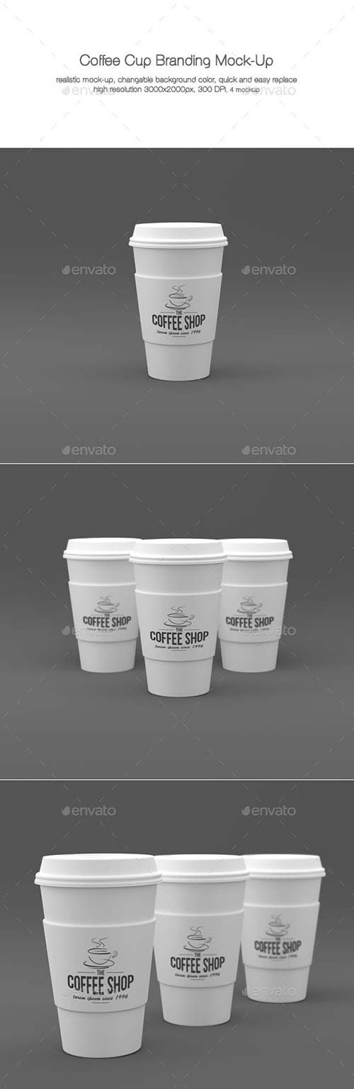 GraphicRiver Coffee Cup Branding Mock-Ups