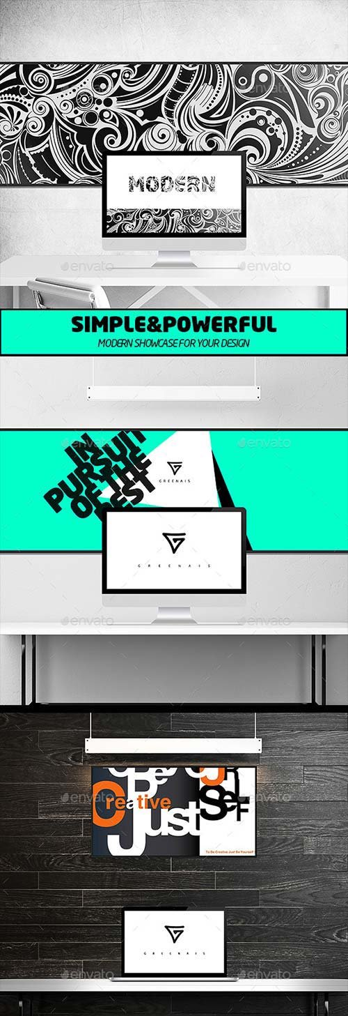 GraphicRiver Print / Poster / Display Mock-up