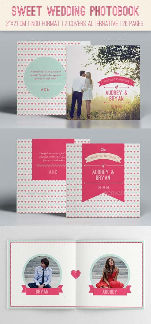 GraphicRiver Sweet Wedding Photobook