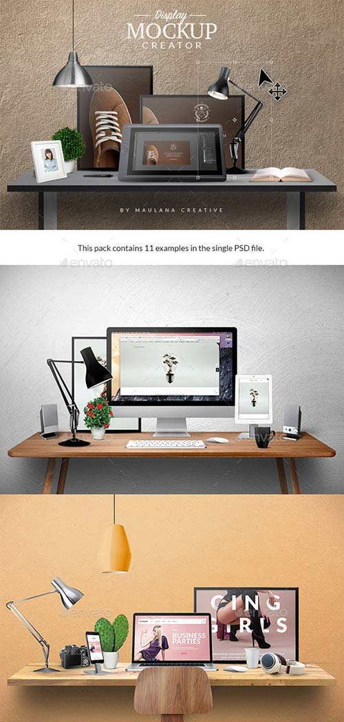GraphicRiver Display Mockup Creator