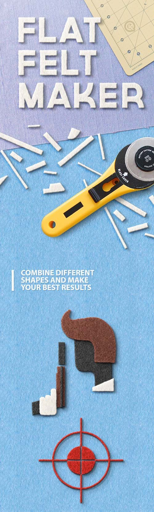 GraphicRiver Flat Felt Maker