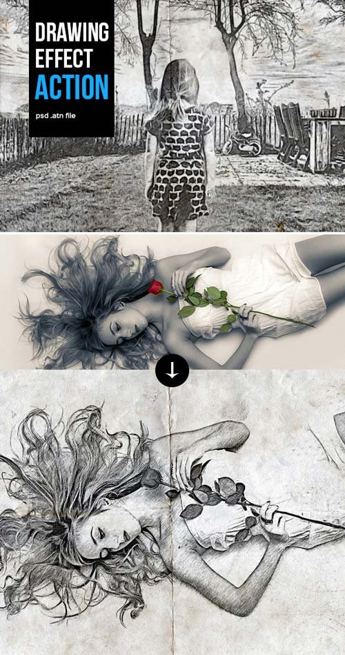 GraphicRiver Drawing Action