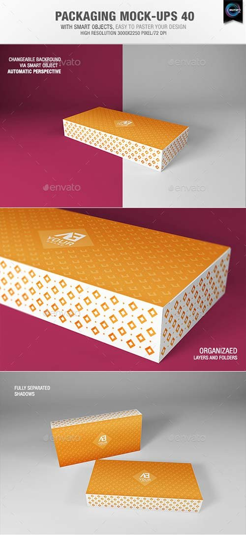 GraphicRiver Packaging Mock-ups 40
