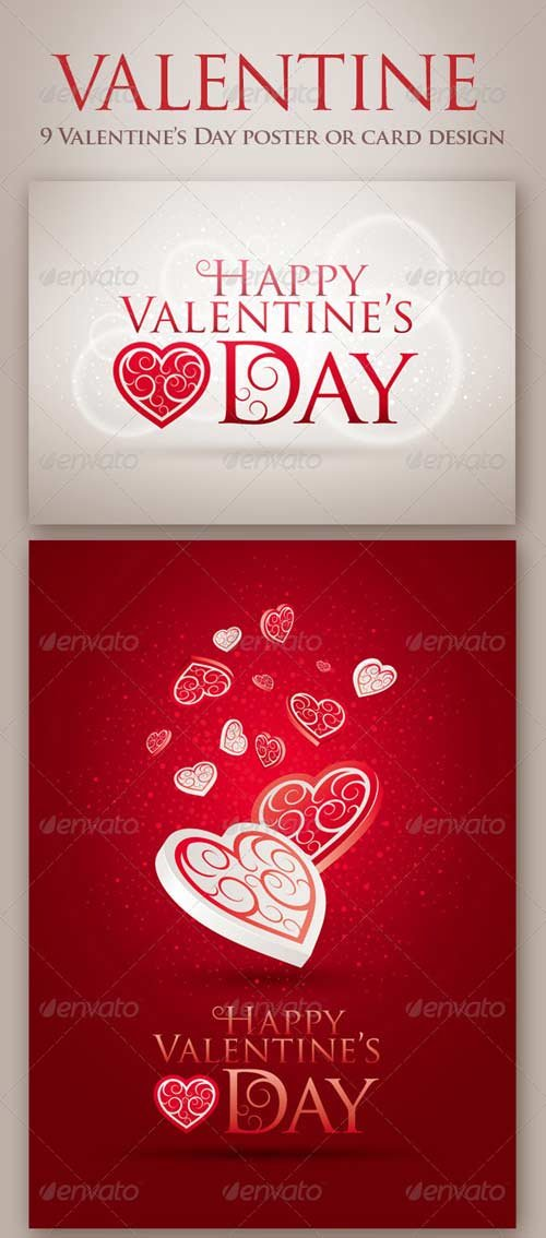 GraphicRiver Happy Valentine's Day