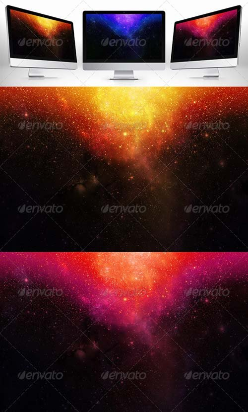GraphicRiver Space Background