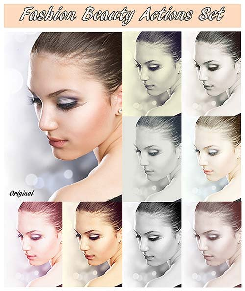 GraphicRiver Fashion Beauty Set