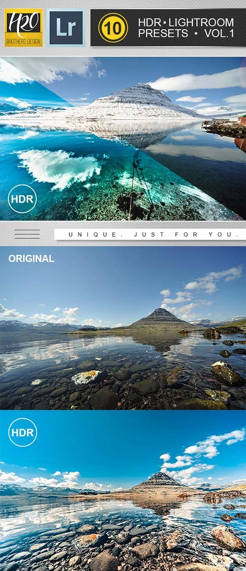 GraphicRiver HDR Lightroom Presets Vol.1