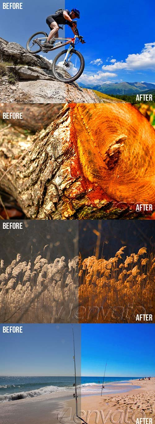 GraphicRiver Photoshop Color Enhance Actions