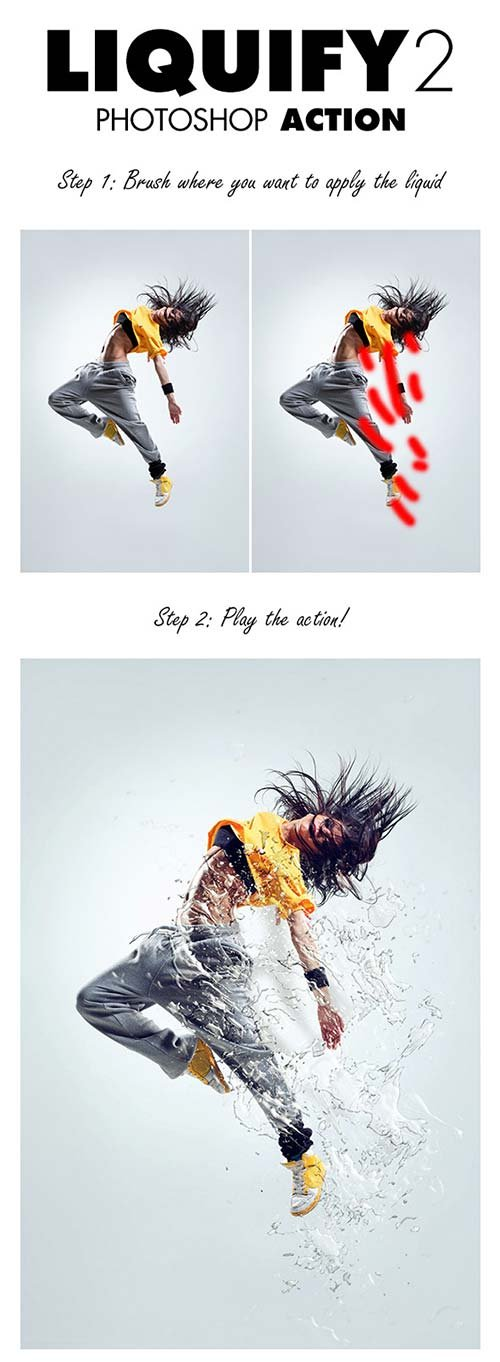 GraphicRiver Liquify 2 Photoshop Action
